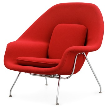 13. An Eero Saarinen 'Womb chair' by Knoll International,