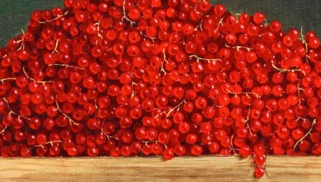 """Philip von schantz, """"rensåpa"""" (still life with blue berries)."""