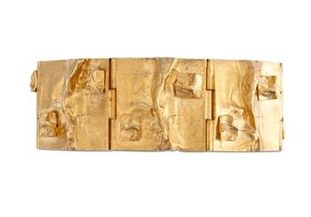 """244. BJÖRN WECKSTRÖM, A GOLDEN BRACELET """" HIPPURANNE""""."""