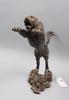 Skulptur, patinerad metall, orientalisk, sent 1900-tal.
