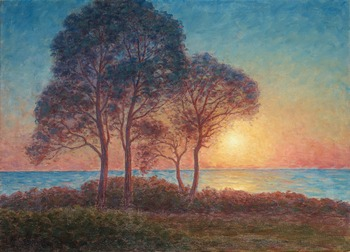 "13. Per Ekström, ""Solnedgång"" (Sunset)."