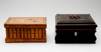 303897. SKRIN, 2 st, trä, 1800-1900-tal.