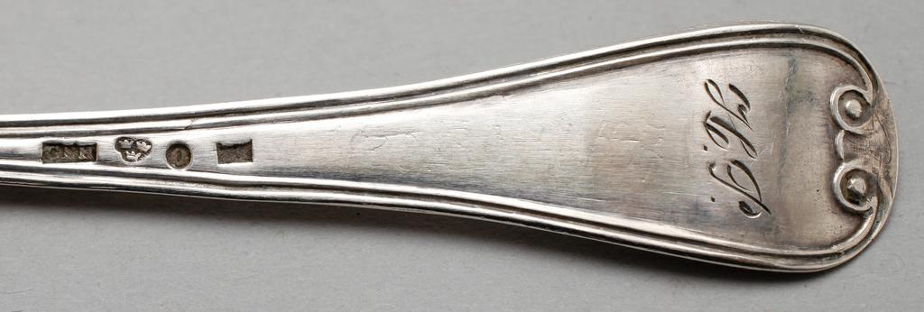 item skedar modell franska liljan nysilver