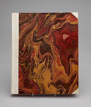 """KONSTBOK, """"Kandinsky"""" av Will Grohmann, numr 357, Paris: Cahiers d`Art 1930."""
