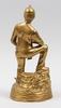 Skulptur, mässing, 1900-tal.