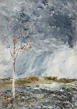 46. AUGUST STRINDBERG, The Birch Tree I (Autumn).