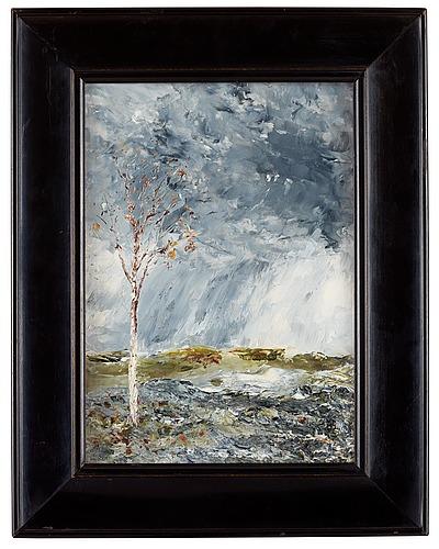 August strindberg, the birch tree i (autumn).