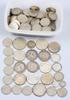 Mynt, 140 st, silver, 1880-1968. 1200 gram.