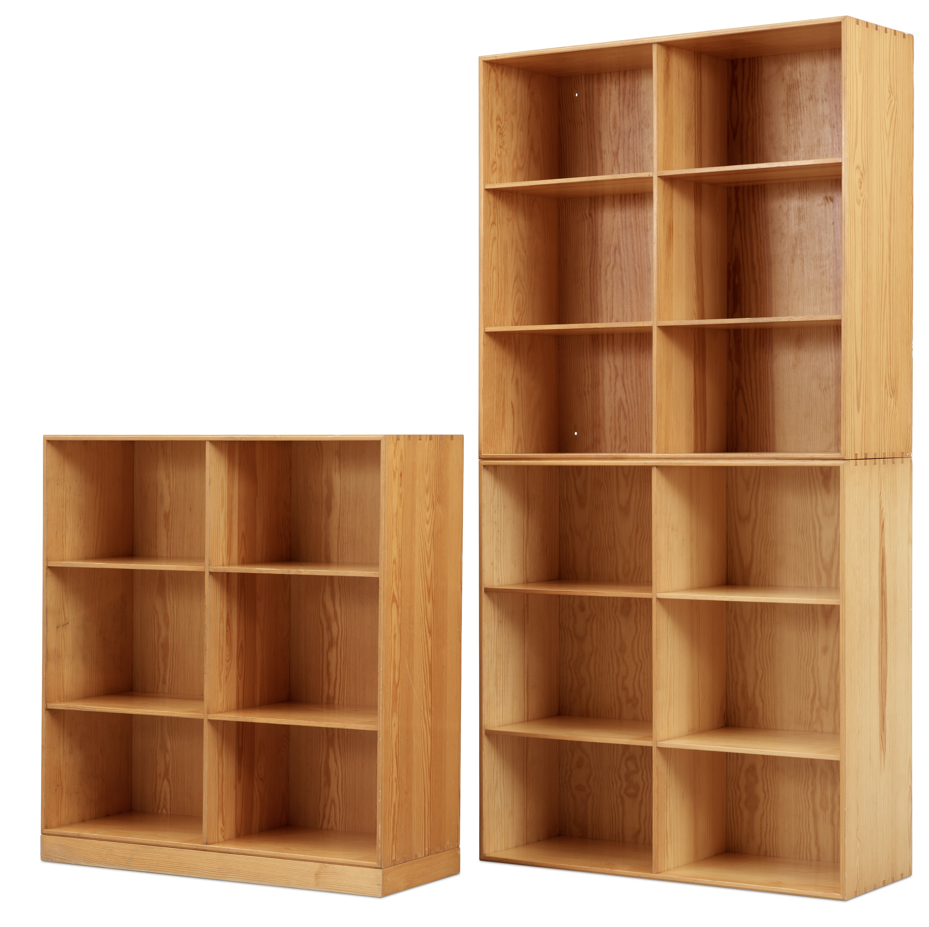 bookcases deep solid wood pine storage pin
