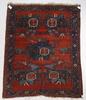 Matta, antik, afshar, sekelskiftet 1900. 151 x 189.