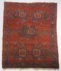 Matta, antik, afshar, sekelskiftet 1900. 151 x 189