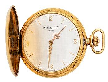 1437. CHOPARD, savonette, guld, ca 1930-40-tal.
