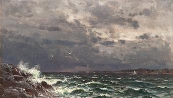 179. Hjalmar Munsterhjelm, STORMANDE HAV.