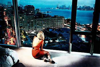"246. DAVID DREBIN, ""Girl in the Orange Dress"", 2009."