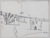 Claesson, (slas) stig, 4 st, tuschteckningar. sign