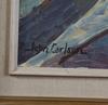 Carlson, john, olja på pannå, sign