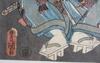 Toyokuni, färgträsnitt, japan 1800-tal.