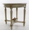 Soffa samt salongsbord, gustaviansk stil, 1900-tal.