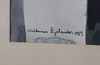 SjÖlander, waldemar. akvarell, sign o dat  59