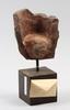 Lundqvist, john. skulptur, gips, sign