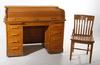Rullklaffskrivbord. 1900-talets första hälft.