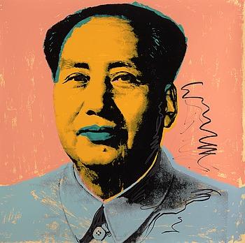 """204. Andy Warhol, """"Mao""""."""