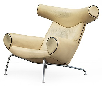 5. A Hans J Wegner 'Ox-Chair' probably by AP-stolen,