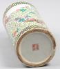 Penselvas, porslin, kina. 1900 talet