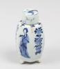 Tedosa, porslin, kangxi, kina 1662-1722.