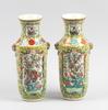 Vaser, ett par, porslin, kina 1800-tal.