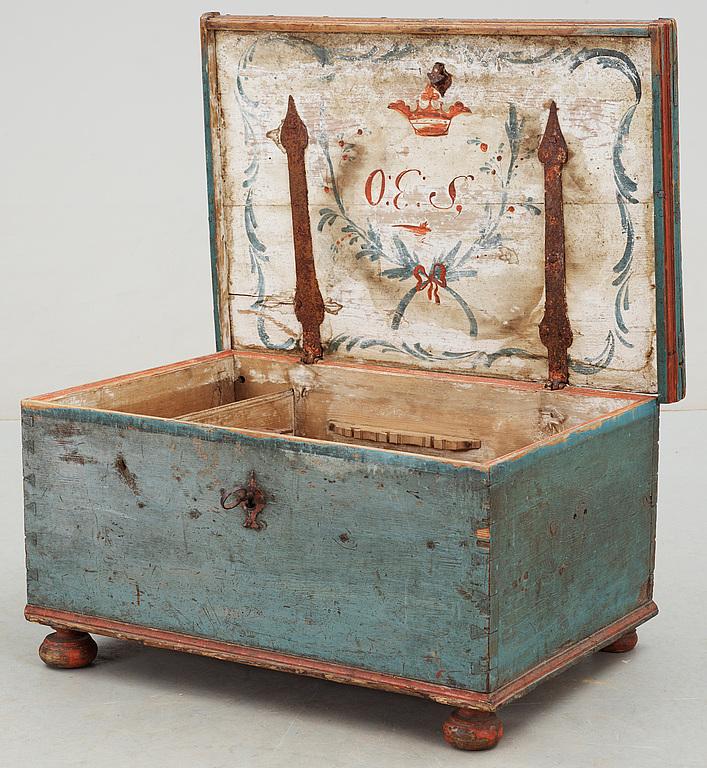 KISTA, allmoge, 1800-talets första hälft.