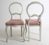 Stolar, ett par, nyrokoko, 1800-tal.