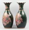 Golvvaser, ett par, porslin, kina, 1900 talets senare hälft