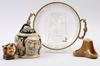 Parti diverse, 4 delar, porslin, glas, 1900 tal