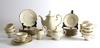 "Kaffeservis, 27 delar, porslin, ""pompadour"", rosenthal"