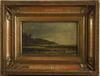 OkÄnd konstnÄr, olja på pannå, bär sign. sent 1800-tal.