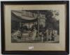 Litografiskt tryck,  efter boulanger, frankrike 1880-talet.