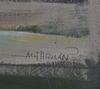 OkÄnd konstnÄr, olja på pannå, sign.