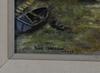 OkÄnd konstnÄr, 2 st, olja på masonitpannå, sign lars isaksson, dat -50, resp -75.