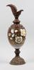 Prydnadsurna, metall, porslin, nyrenässans, 1880-90-tal.