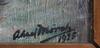 MÖrck, aksel. olja på duk, sign o dat 1925.