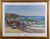 Ravn, johannes. blandteknik, olja och akvarell, sign o dat -86.