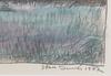 Duner, sten. krita, sign o dat 1972.