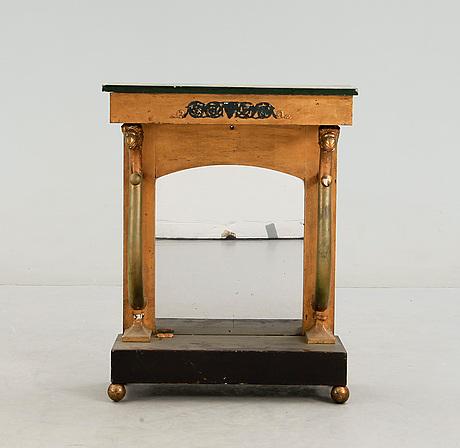 Konsolbord, senempire, 1800-talets mitt.