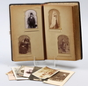 Fotoalbum, sent 1800-tal.