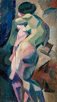 """10. Agnes Cleve, """"Nakenstudie"""" (Nude)."""
