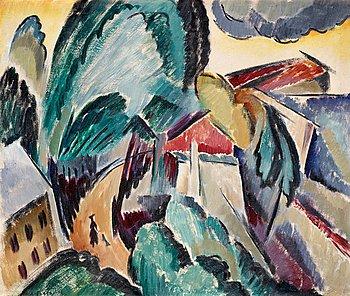 """6. Agnes Cleve, """"Landskap""""."""