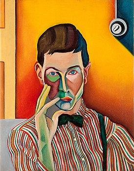 19. Bo von Zweigbergk, Self portrait.