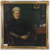 Stenberg, emerik. olja på duk, sign o dat 1911.
