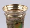 Lockpokal, nysilver, gab, sent 1800-tal.